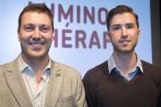 Mathieu Larrivée, de Lüz Studio, et Pierre-Alexandre Le... (Photo: Olivier Pontbriand, La Presse) - image 2.0