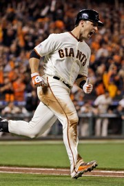 Buster Posey... (Photo David J. Phillip, AP) - image 2.0