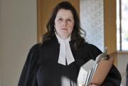 Me Mélanie Paré, procureure de la Couronne.... ((Photo Rocket Lavoie)) - image 1.0