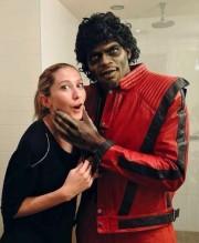 P.K. Subban, déguisé en Michael Jackson, en compagnie... (Photo tirée de Twitter) - image 2.0