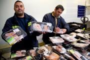 Lorsque la viande arrive à l'entrepôt, Moisson Montréal... (PHOTO ALAIN ROBERGE, LA PRESSE) - image 3.0