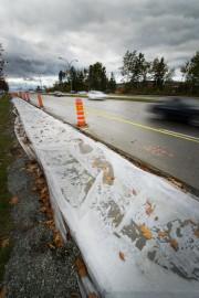 La piste cyclable que la Ville de Sherbrooke... (Imacom, René Marquis) - image 1.0