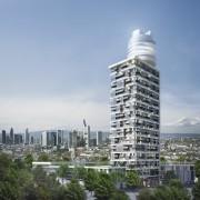 La tour d'habituation atteindra une hauteur de 140... (Illustration fournie par Ballwanz immobilien GMBH&CO) - image 1.0