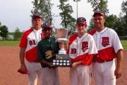 Oscar Taveras à 13 ans, avec l'équipe de... (Photo fournie par l'Association de baseball de Rosemont) - image 2.0