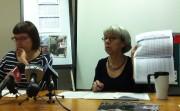 Véronique Laflamme, du FRAPRU et Diane Vermette du... (Photo: Louise Plante) - image 1.0