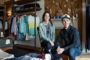 Pamela Hopson et Francesco Fiore conscrent leur boutique... (PHOTO EDOUARD PLANTE-FRÉCHETTE, LA PRESSE) - image 2.0