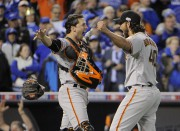 Bumgarner, 25 ans, a été décisif lors des... (Photo USA Today Sports) - image 6.0