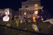 L'ambiance de l'Halloween a été mise en scène... (Photo: Stéphane Lessard, Le Nouvelliste) - image 1.0