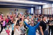 Les élèves de l'école Notre-Dame-du-Canada ont reçu la... (Photo fournie par Québec en Forme) - image 5.0