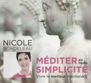 Méditer en toute simplicité par Nicole Bordeleau.... - image 1.0