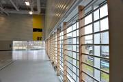 Dans le second gymnase, les architectes de CCM2... (Le Soleil, Patrice Laroche) - image 2.1