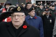 La cérémonie du jour du Souvenir a réuni... (Photo: Sylvain Mayer, Le Nouvelliste) - image 1.0