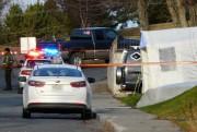 La voiture blanche dans laquelle a été retrouvé... (Photothèque Le Soleil) - image 2.0