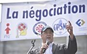 Le président du Syndicat des fonctionnaires municipaux de... (Photothèque Le Soleil, Pascal Ratthé) - image 2.0