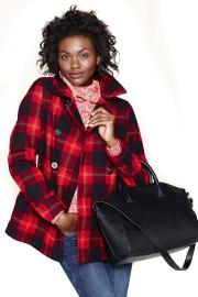 Le carreau se fait beau annie lafrance mode - Manteau coupe masculine pour femme ...