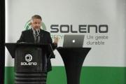 Alain Poirier, président de Soleno.... (Photo: Stéphane Lessard, Le Nouvelliste) - image 1.0