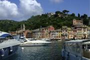 Portofino présente un décor de carte postale avec... (Photo Andrée Lebel, La Presse) - image 1.1