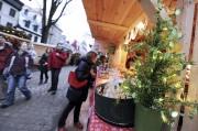 Les kiosques de bois du village éphémère du... (Le Soleil, Erick Labbé) - image 1.1