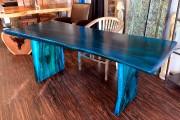 Une table de la collection Lumineuse... (Le Soleil, Erick Labbé) - image 1.0