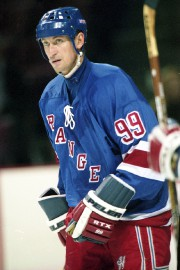 Wayne Gretzky avec les Rangers en 1998.... (Photo Bernard Brault, archives La Presse) - image 2.0