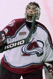 Marc Denis avec l'Avalanche du Colorado en 2000.... (Photo archives AP) - image 2.0