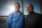 Martin Laflamme et Denis Gagné, cofondateurs de la... (PHOTO ANDRÉ PICHETTE, LA PRESSE) - image 2.0