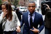 Ray Rice avec sa femme Janay.... (Photo Jason DeCrow, archives AP) - image 2.0
