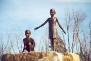 Des malfaiteurs se sont emparés de la statue... (Photo Ville de Drummondville) - image 1.0