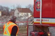 Après que la flamme de la cheminée, installée... (Le Soleil, Jean-Marie Villeneuve) - image 1.0