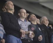 Les spectateurs ont observé une minute de silence... (Le Soleil, Jean-Marie Villeneuve) - image 1.0