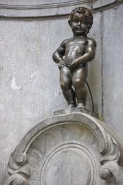 Le Manneken-Pis, «le gamin qui pisse»... (Photo tirée de Wikipedia) - image 3.0