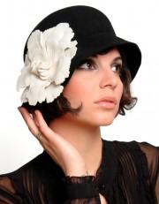 Chapeau cloche d'Ophelie Hats (plusieurs coloris disponibles), 68... - image 2.0
