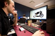 L'objectif est ambitieux. Concevoir une moto... (Photo François Roy, La Presse) - image 8.0