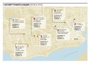 La capitale ne manque pas d'intersections dangereuses et... (Infographie Le Soleil) - image 1.0