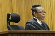 La jugeThokozile Masipa.... (PHOTO KIM LUDBROOK, AFP) - image 2.0