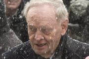 Jean Chrétien a bravé la tempête pour assister... (Photo: La Presse Canadienne) - image 1.1