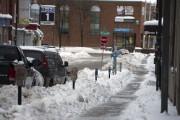 Le stationnement était plus compliqué jeudi au centre-ville... (Photo: Stéphane Lessard, Le Nouvelliste) - image 1.0