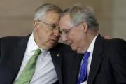 Le leader de la majorité démocrate au Sénat,... (Photo Gary Cameron, Reuters) - image 1.0