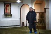 Oussama El-Saadi, recteur de lamosquée Grimhojvej. D'après la... (PHOTO BJORN LINDGREN, AFP) - image 2.0
