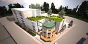 Une vue aérienne du projet... (Maquette fournie par Action-Habitation de Québec) - image 2.0