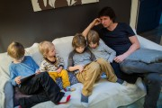 «La seule dimension parentaleoù les pères en font... (Photo Édouard Plante-Fréchette, La Presse) - image 4.0