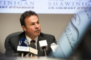 Le maire de Shawinigan, Michel Angers.... (PHOTO: STÉPHANE LESSARD) - image 1.0