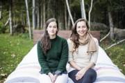 Les deux «Ariane», fondatrices d'Objets Mécaniques: Ariane Ouellet-Pelletier,... (Photo Elisabeth Anctil-Martin, fournie par Objets Mécaniques) - image 1.0
