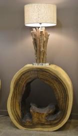 Cette table a été fabriquée avec un tronc... (Le Soleil, Yan Doublet) - image 1.0
