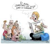 Toujours difficile pour un caricaturiste de s'ajuster aux... (Le Soleil, André-Philippe Côté) - image 1.0