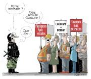 La police, c'est toujours un sujet vendeur. Les... (Le Soleil, André-Philippe Côté) - image 1.0