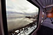 Les passagers du train jouissent de paysages magnifiques,... (Le Soleil, Patrice Laroche) - image 1.1