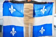 Le drapeau de la soirée électorale de Pauline... (Le Soleil, Yan Doublet) - image 4.0