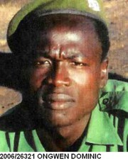 Dominic Ongwen... (PHOTO ARCHIVES AFP/INTERPOL) - image 2.0