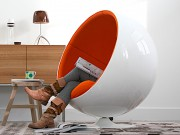 Le fauteuil Globe, pensé par le designer Eero... (Photo fournie par nest.co.uk) - image 2.0